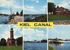 Ak/Vintage Postcard: Kiel canal - 6 vistas (aprox 1970er)
