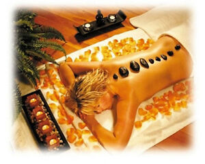 Romantic Massage Spa Hot Rocks Gift Pack Stone Therapy Relaxing Hot Cold Spa Kit
