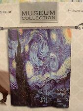 Van Gogh Starry Night Shower Curtain Brand New 70 X 72 Art Impressionist