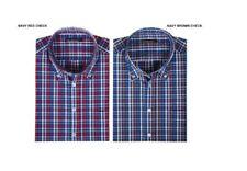 Camisas casuales de hombre en color principal multicolor de poliéster