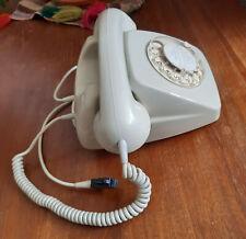 Telefon 70-er Wählscheibe Grau FeTAp 611 Top-Zustand volle Funktion