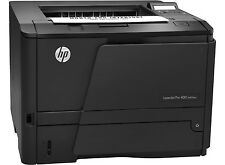 HP LaserJet Pro 400 M401dne A4 USB Duplex Network Ready Mono Printer + Warranty