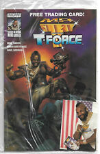 NOW Comics : Mr. T & the T-Force #3 (Dave Dorman)  A-Team (sealed + Trading Card
