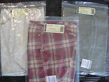 Longaberger Lot of 3 Large Desktop Basket Fabric Liners Liner