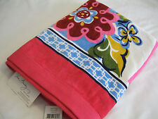 Vera Bradley Hope Garden Beach Bath Towel 4 Tote Backpack Flip Flops Purse Nwt