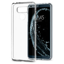 For LG G6 Slim Hybrid TPU Rubber Silicone Gel Hard Protective Clear Case Cover