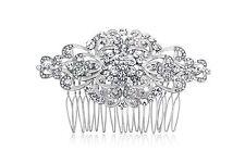 Crystal Wedding Comb, Bridal Wedding Comb, Art Deco Comb, Vintage Bridal Comb