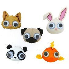 Dress it up Google Eyed 9362 set of 2 Packages of Button FREE US SHIPPING