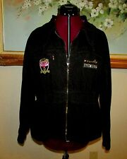 JUNIORS BABY PHAT COTTON ZIP FT JACKET W TOGGLE PULL COLLAR SZ 2XL/PATCHES/STUDS