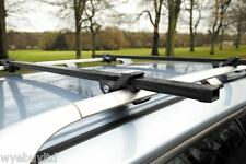 Anti theft roof bars for a 5 door Nissan X-Trail year 2001 to 2006 cross bar