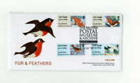 BPMA OFFICIAL FUR & FEATHERS TYPE 2 FDC 1st 2nd Post Go 16/11/15 LIMITED ED 200