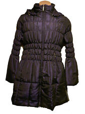 BNWT size Large ROMAN gathered detail PADDED LADIES COAT in PURPLE