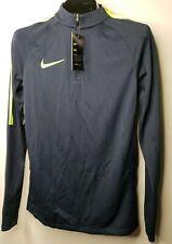 Nike Mens Nk Dry Sqd17 Dril Ls Long Top Jacket Shirt Small Training Navy Green