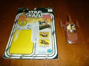 Star Wars Vintage Die Cast Landspeeder with the Original Card!