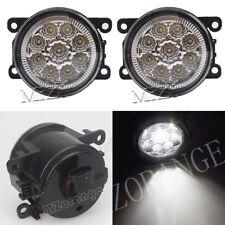 2 pcs White LED Fog Light Bulbs For Renault DUSTER LATITUDE LOGAN LAGUNA MEGANE