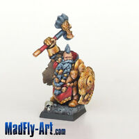 Dwarf Lord Steelbane MASTERS6 painted MadFly-Art