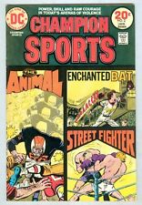 Champion Sports #2 January 1974 VG/FN The Animal
