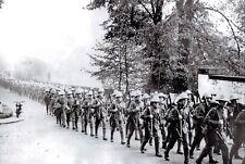 The New Nostalgia Series Postcard 1937 British Infantry Bound for Shanghai 58K