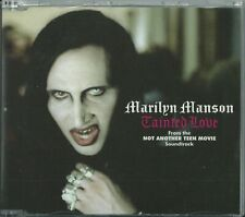 MARILYN MANSON - TAINTED LOVE /I MELT WITH YOU/BIZARRE LOVE TRIANGLE 2002 UK CD1