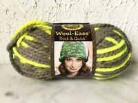 Lion Brand Wool-Ease Thick & Quick Acrylic/Wool Blend Yarn - 1 Skein Toucan #510