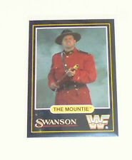 WWF card the Mountie swanson 1991