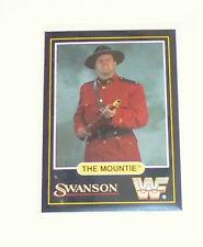 WWF card the Mountie swanson 1991