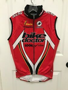 Castelli  Wind Stopper Mens Large Thermal Jacket Vest Red Giro Bell Look Nike
