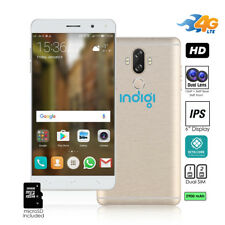 Android 7 4G LTE SmartPhone by Indigi - OctaCore @ 1.3Ghz + 13MP Camera + 2SIM