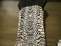 Womens LUMIERE Native American Faux Suede Indian Dress S M L NEW NWT SLEEVELESS