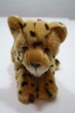 "Teddy Hermann Plush Cheetah Wild Cat Stuffed Animal Toy 13"""