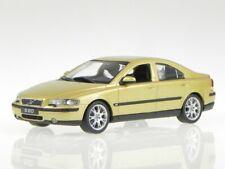 1:43 Volvo S60 2001 Gold Metallic 433171263 Minichamps