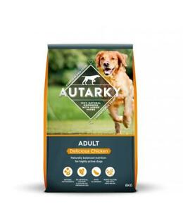 Autarky Adult Delicious Chicken Dry Dog Food - 12kg
