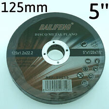 "10PC 125mm 5"" CUTTING DISC WHEEL Thin 4 Angle Grinder Stainless Steel Metal Cut"