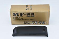 [ALMOST UNUSED] Nikon F4 Standard Back Panel Cover Film SLR Camera from JAPAN