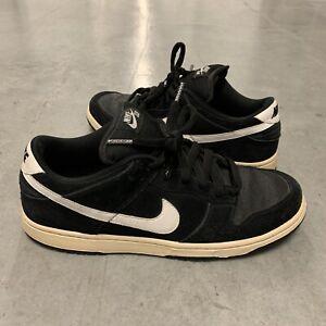 Nike Dunk Sb Low Blue Box 304292 015 Size 11 Black White Grip tape