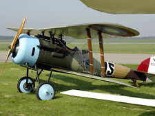 WWI  Nieuport 28 107  inch wing   1/3 Scale RC Model AIrplane PDF Plans on CD