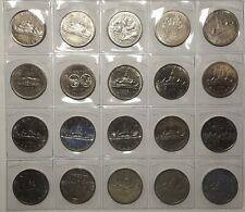 1968-1986 Canada One Dollar (Nickel) Collection Lot of 20 coins