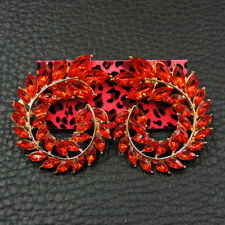 Betsey Johnson Fashion Jewelry Noble Shining Crystal Stud Earrings
