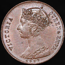 More details for 1887 | victoria jubilee model half-farthing 'by lauer' | coins | km coins
