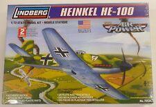 Lindberg 1/72 Heinkel HE-100 Model Kit 70521 New
