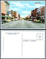 ALABAMA Postcard - Anniston, Noble Street J9