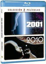 2001 ODISEA EN EL ESPACIO + 2010 BLU RAY PACK DE 2 PELICULAS NUEVO ( SIN ABRIR )