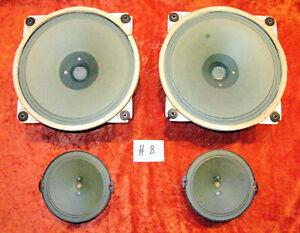 """SABA Greencone Lautsprecher 20cm AlNiCo * 8"""" fullrange speakers for tube amp #08"""