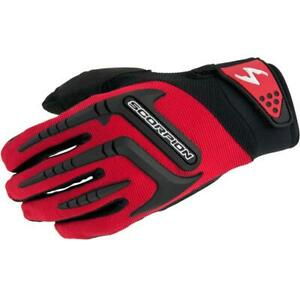 Scorpion Skrub Mens Gloves Nash Leather TPR Molded Protectors Padded Palm S-3XL
