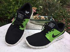 Genuine Nike SB Stefan Janoski Max Black Volt Mens Trainers Size UK 8