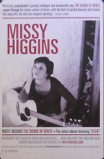 MISSY HIGGINS, SOUND OF WHITE POSTER (E5)
