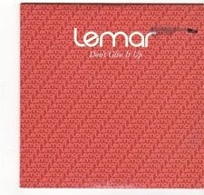 (EZ658) Lemar, Don't Give It Up - 2005 DJ CD