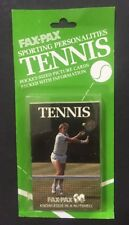 Fax Pax Tennis Card Set 38 Cards Factory Sealed New McEnroe Connors Free Ship