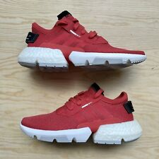 NEW ADIDAS POD S3.1 Red DB2891 Junior Trainers Running Athletic Shoes - 5.5Y