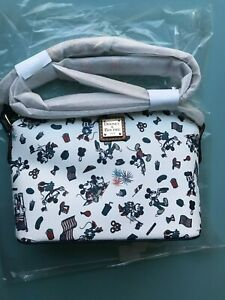 Disney Dooney & Bourke Mickey and Minnie Mouse  Americana Crossbody Purse NWT